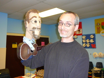 Phil Vischer and puppet